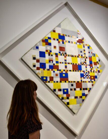 Museo exposición Mondrian La Haya