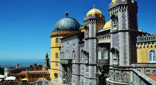 Palacio da Pena en Sintra cerca de Lisboa