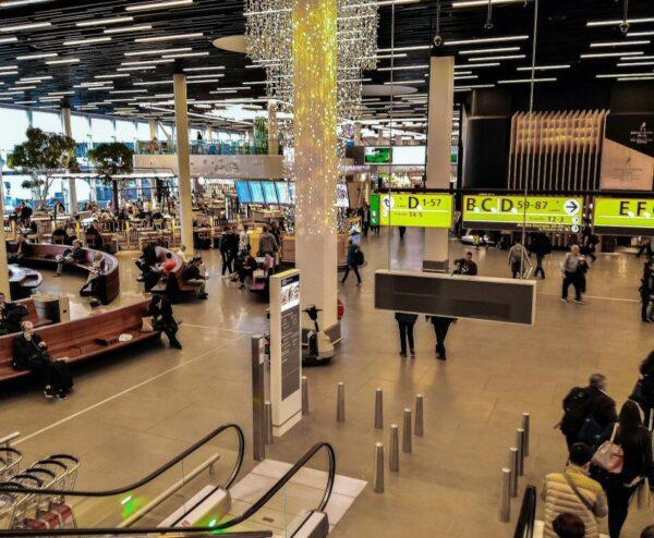 Aeropuerto Schipol de Amsterdam en Holanda