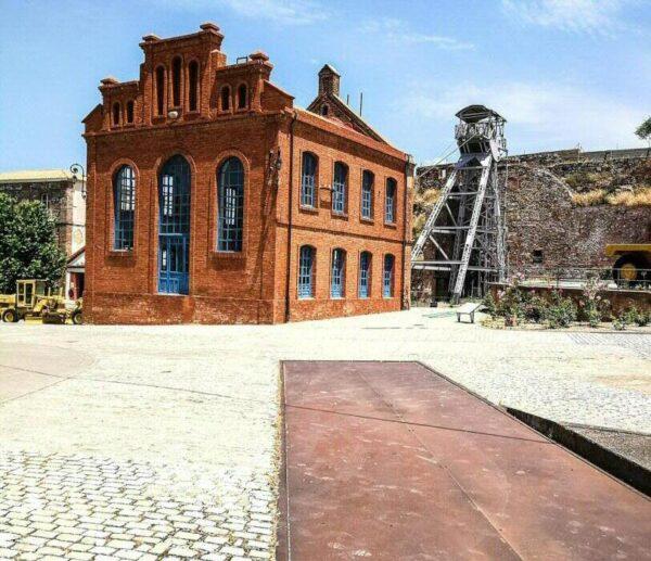 Parque Minero de Almadén al sur de Ciudad Real