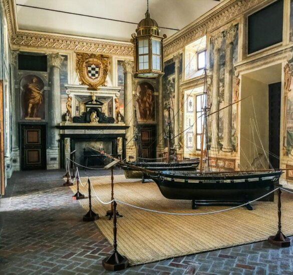 Palacio de Santa Cruz en Viso del Marqués en Ciudad Real