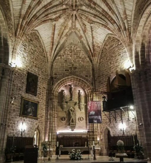 Iglesia de San Andrés en Villanueva de los Infantes en Ciudad Real