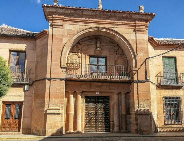 Casa del Arco en Villanueva de los Infantes en Ciudad Real