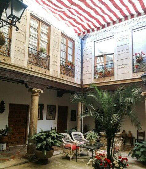 Patio de casa señorial en Villanueva de los Infantes