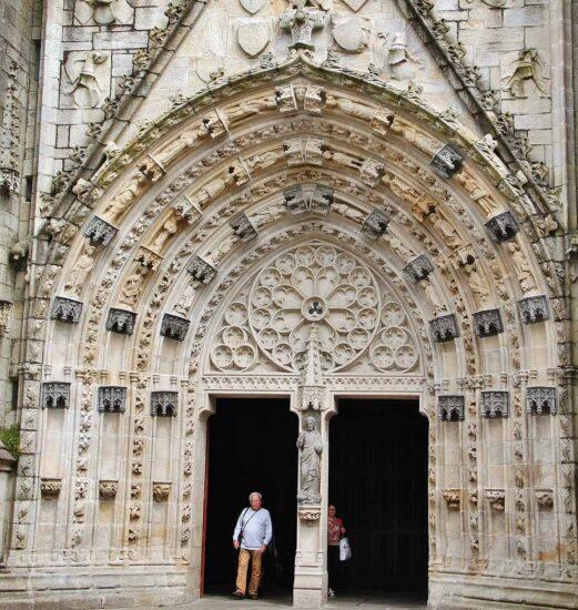 Catedral de Quimper en Bretaña
