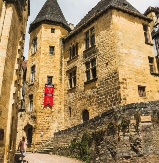 Rincón de Sarlat en Pèrigord al suroeste de Francia