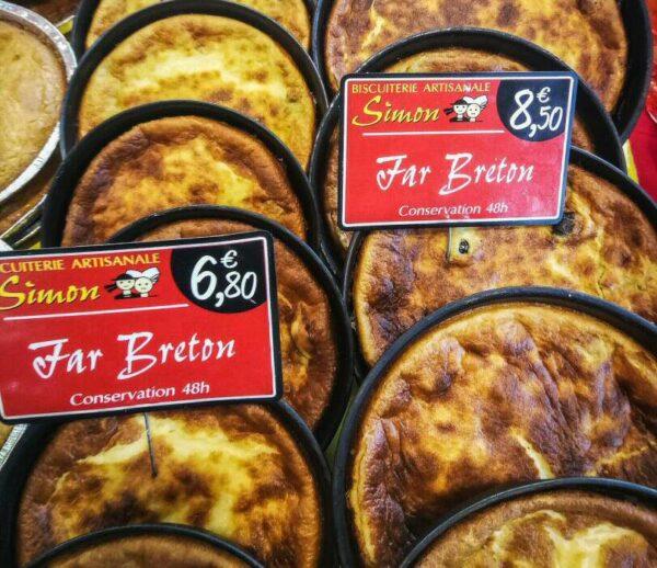 Far Breton, especialidad de la grastronomía bretona