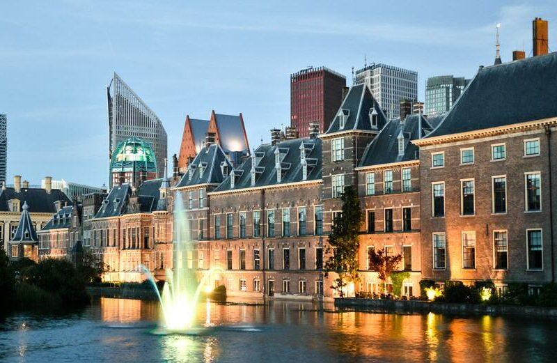 Skyline de La Haya en Holanda