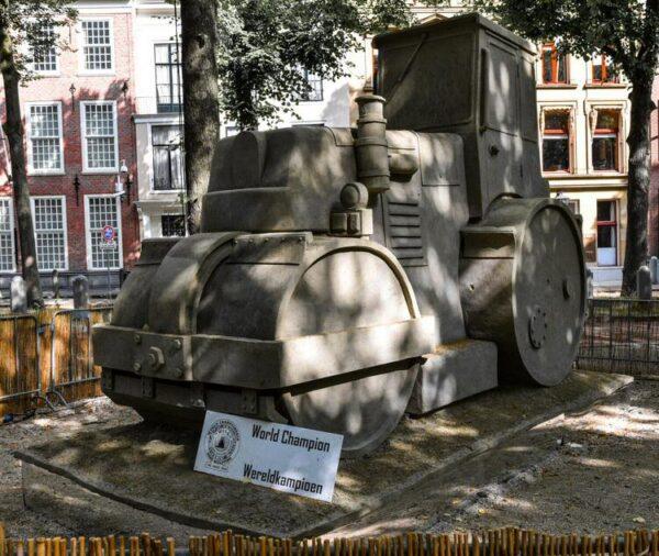 Campeonato del Mundo de Esculturas de arena en el bulevar de La Haya