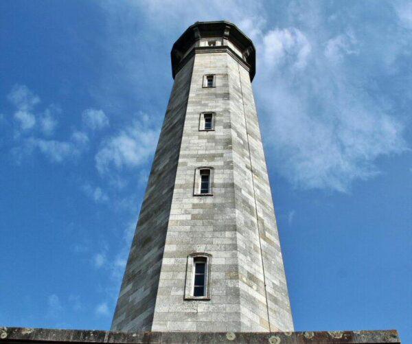 Faro de las Ballenas en la isla de Ré al oeste de Francia