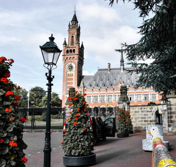 Palacio de la Paz en La Haya en Holanda