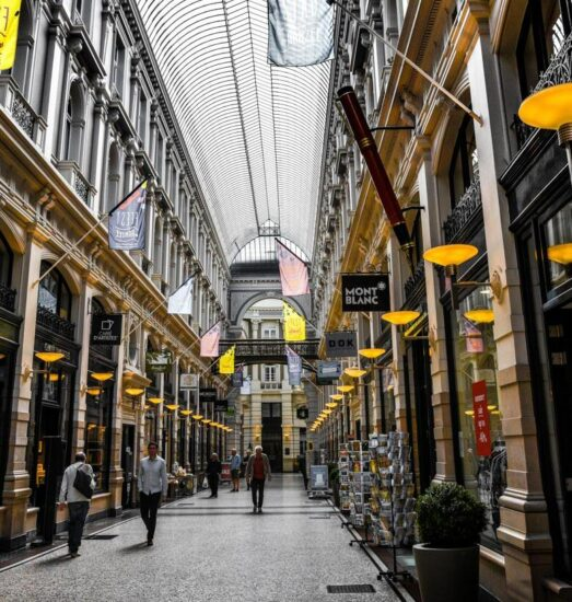Centro comercial The Passage en La Haya