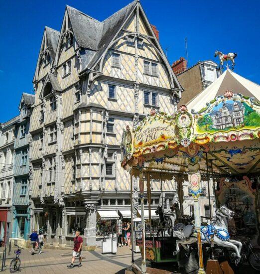 Casa de Adam en Angers en el Valle del Loira en Francia