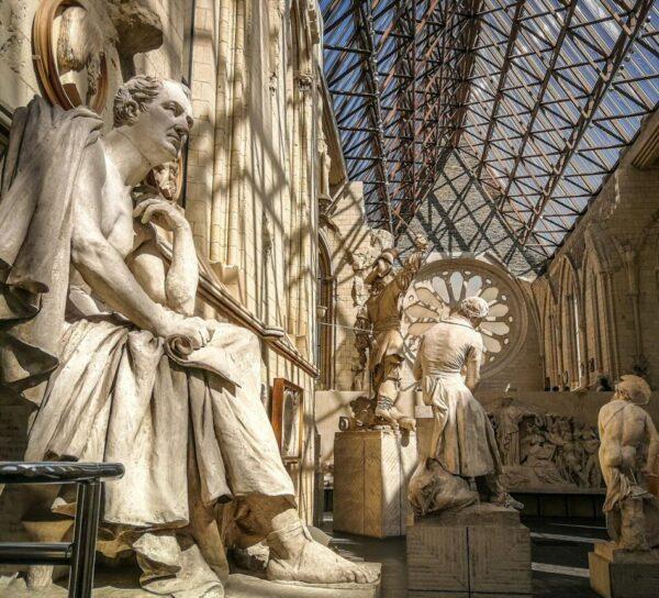 Galería David d´Angers en Angers en Francia