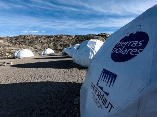Campamento de Tierras Polares en Groenlandia