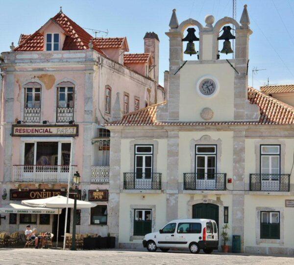 Rincón de Cascais cerca de Lisboa en Portugal