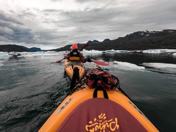 Kayak en Groenlandia