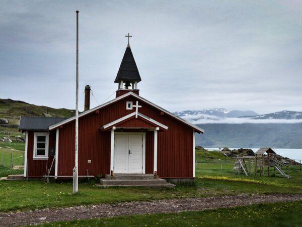 Iglesia en Groenlandia