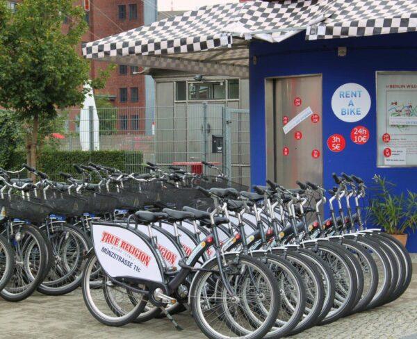 Alquiler de bicicletas en Berlín
