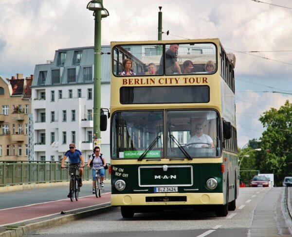 Autobús turístico en Berlín