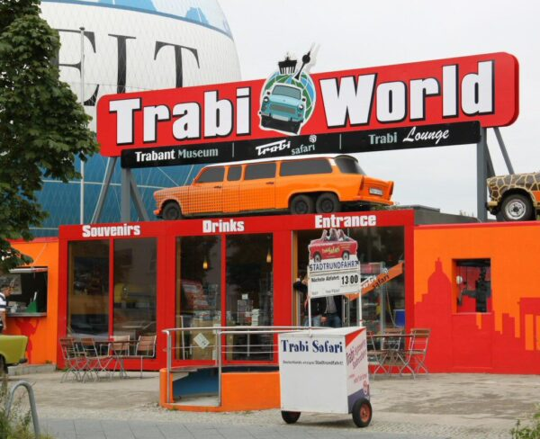 Museo del Trabant en Berlín