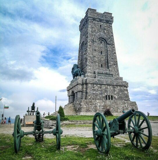 Monumento de Shipka en Bulgaria