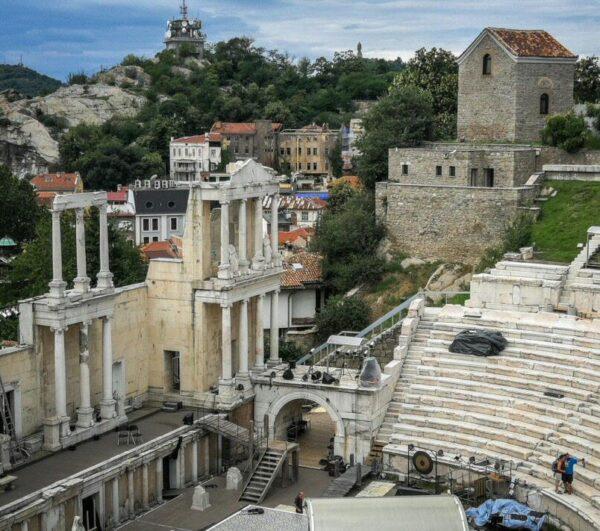 Teatro romano de Plovdiv en Bulgaria