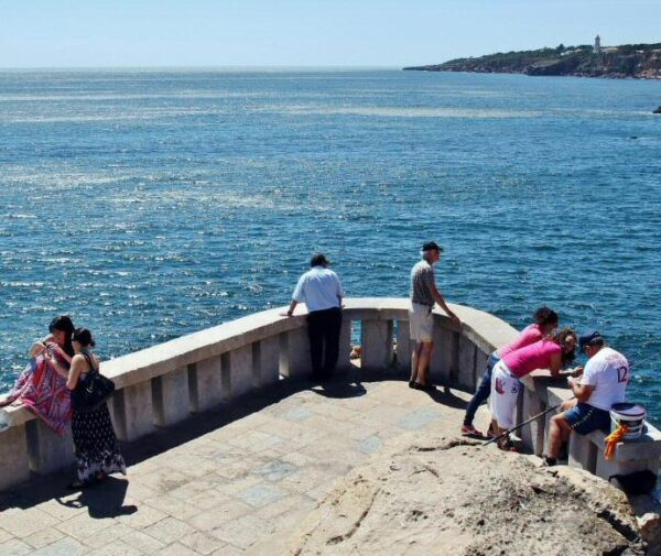 Boca del Infierno en Cascais cerca de Lisboa en Portugal