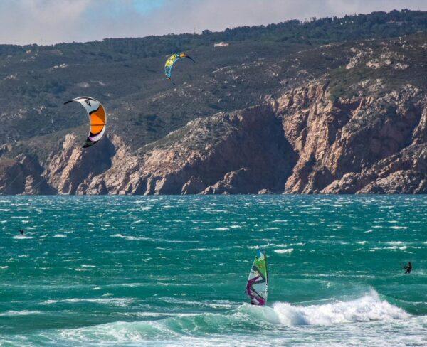 Playa de Guincho cerca de Cascais en Portugal
