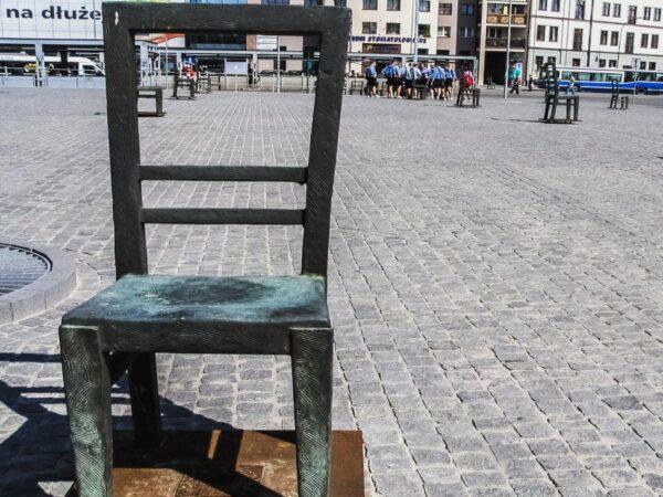 Memorial en el Barrio Judío de Cracovia