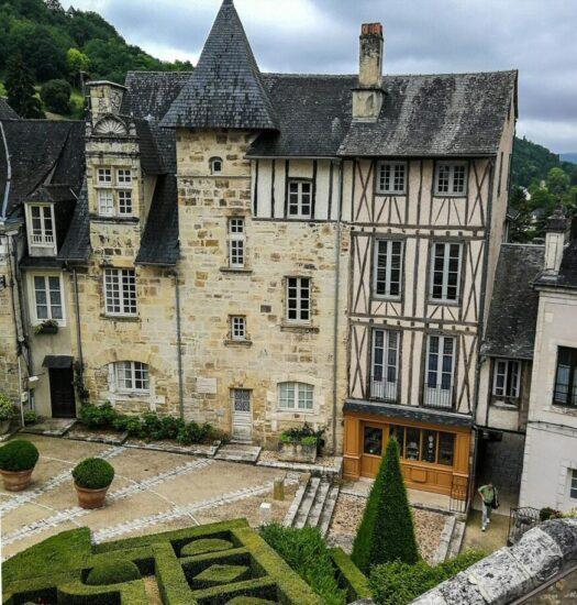Terrason en Perigord al suroeste de Francia