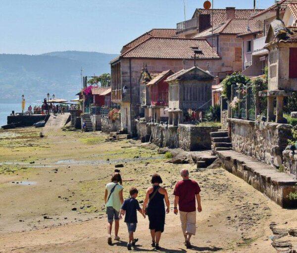 Rincón de Combarro en Galicia