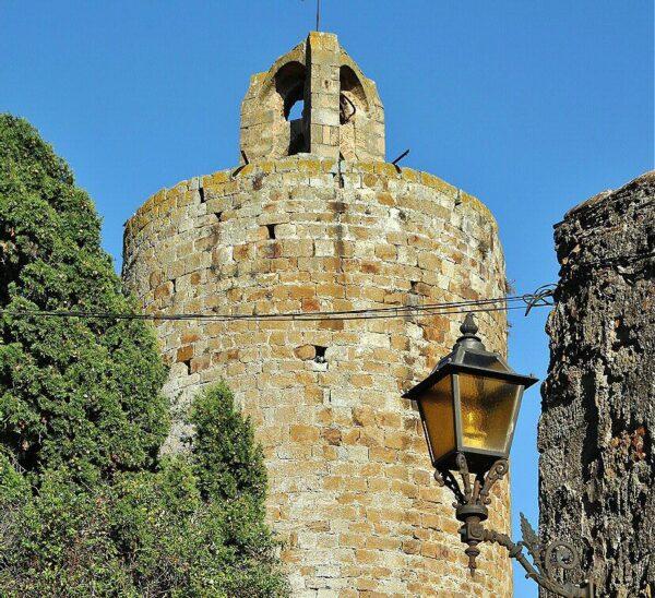 Torre del Homenaje en Pals en Costa Brava