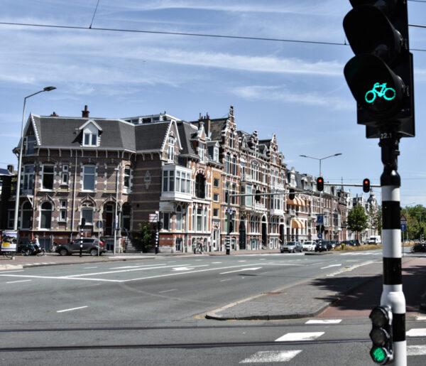 Bicicletas en La Haya en Holanda
