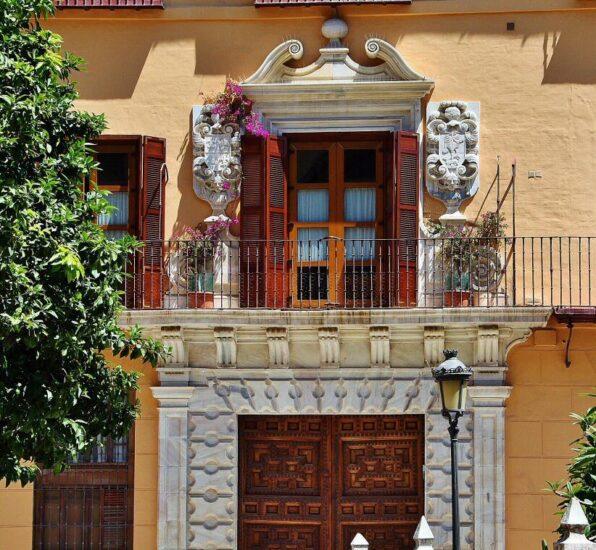 Rincón del centro histórico de Málaga