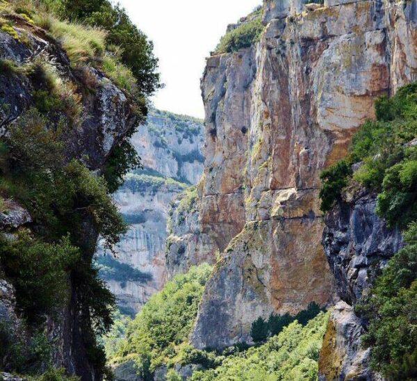 Foz de Lumbier en Navarra