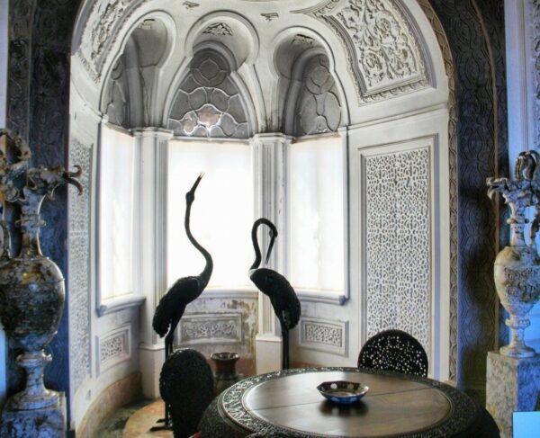 Salón indiano del palacio da Pena de Sintra