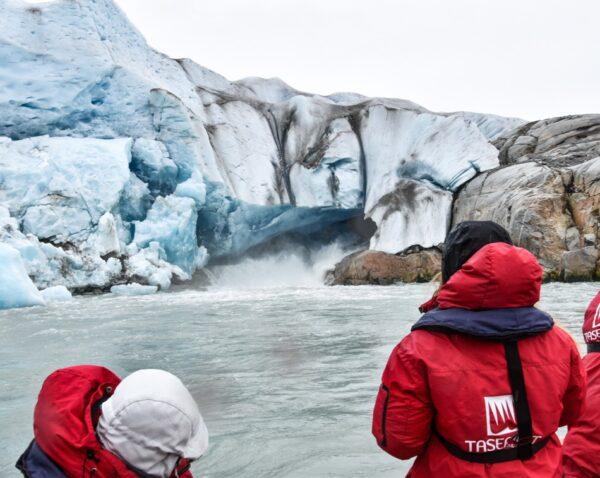 Glaciar Qalerallit en Groenlandia