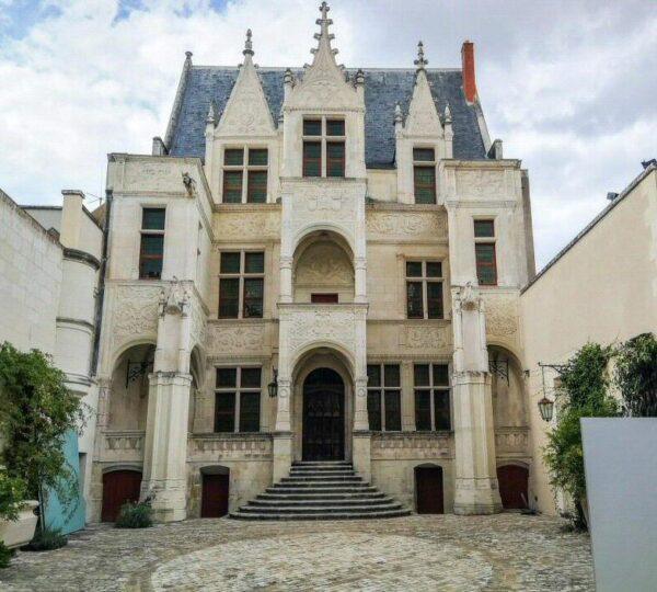 Casa señorial Hotel Gaouin en Tours en Valle del Loira