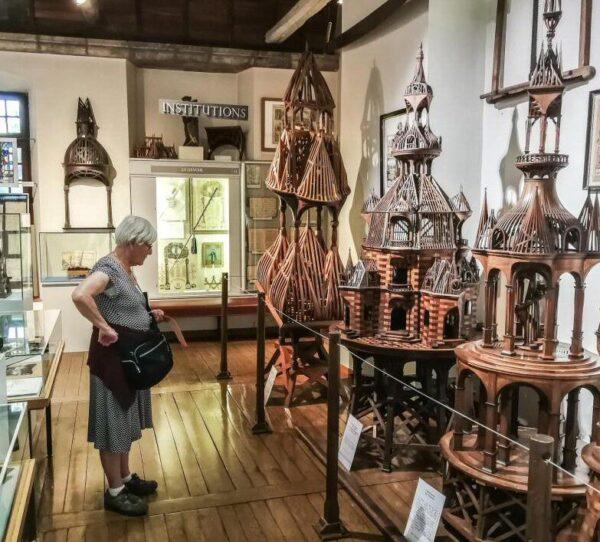 Museo del Gremialismo en Tours en Valle del Loira en Francia