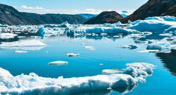 Glaciar Qooroq en Groenlandia