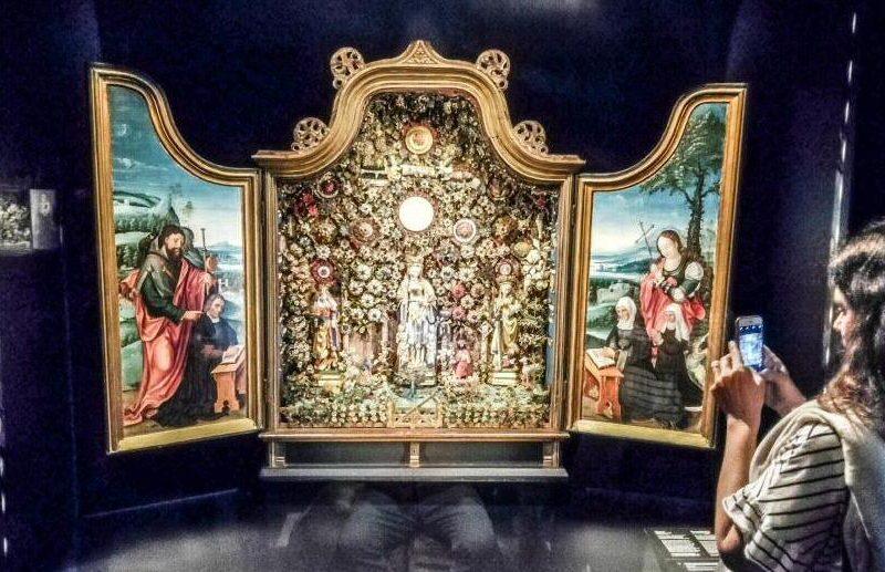 Museo Hof Van Busleyden en Malinas en Flandes en Bélgica