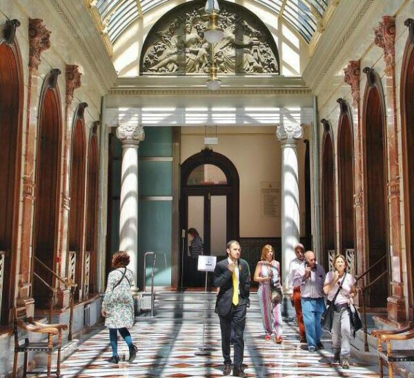 Galeria Central del Casino de Murcia