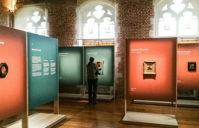Exposición de Adriaen Brower en Oudenaarde en Bélgica