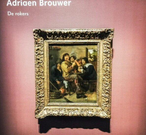 Autorretrato de Adriaen Brower