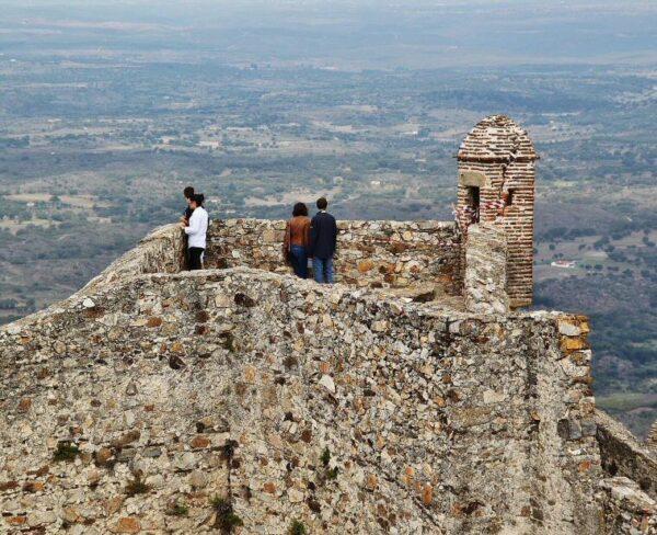 Castillo de Marvao en Alentejo de Portugal