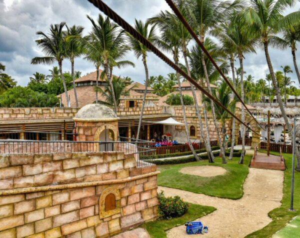 Castillo para niños en Grand Palladium Hotels & Resorts en Punta Cana