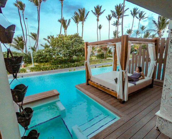 Habitación junto a la piscina en TRS Turquesa en Punta Cana