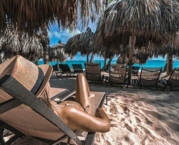 Playa del Grand Palladium Hotels & Resorts en Punta Cana