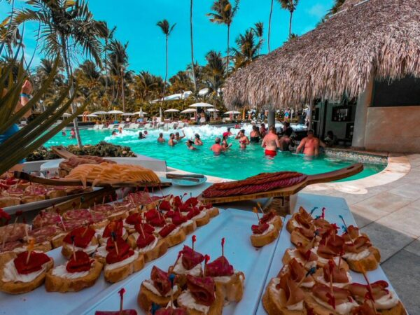 Fiesta de la espuma en Grand Palladium Hotels & Resorts en Punta Cana